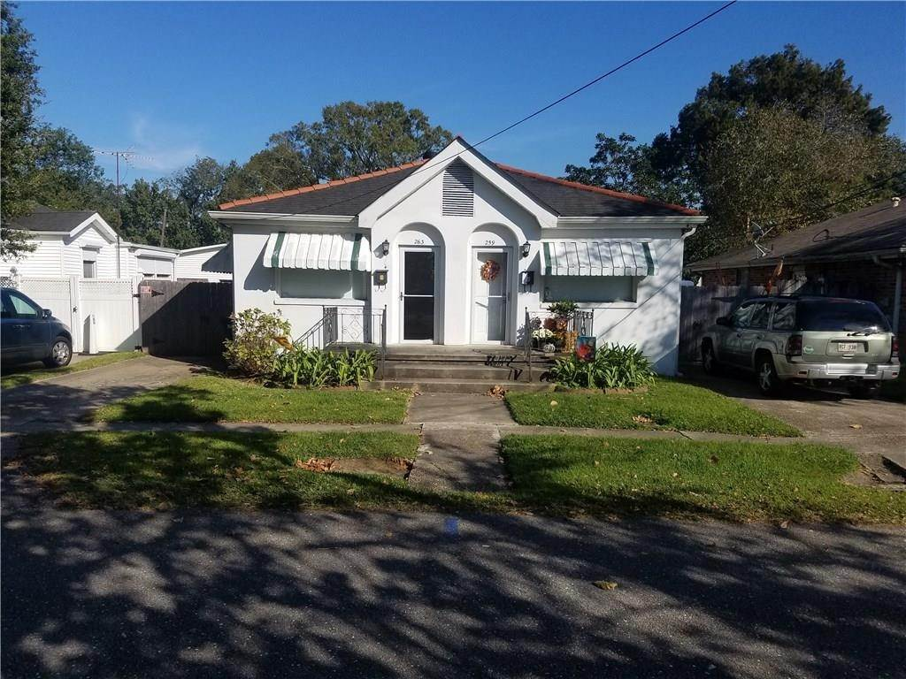 condo / townhouse / duple at 263 ROSELAND Park Harahan, Louisiana 70123 United States