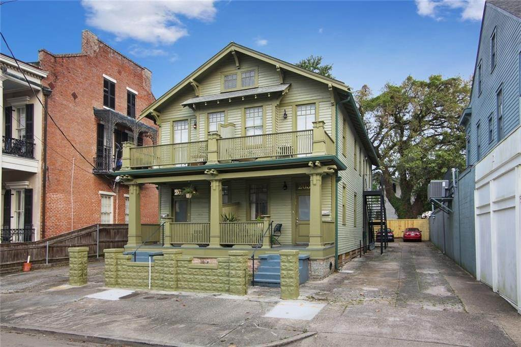 Apartments for Sale at 2034 36 PRYTANIA Street New Orleans, Louisiana 70130 United States