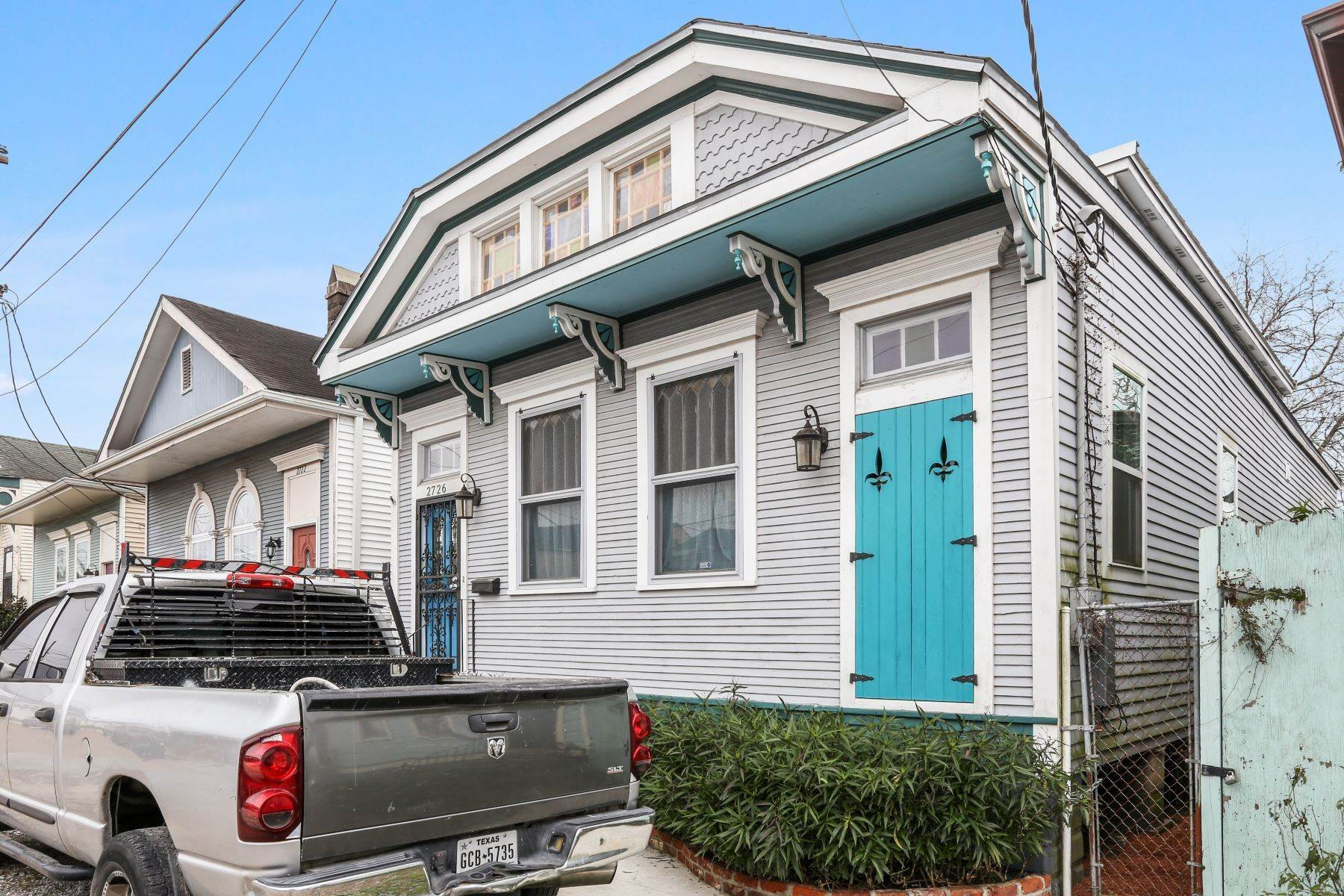 Single Family Homes for Sale at St. Ann cottage 2726 St Ann New Orleans, Louisiana 70119 United States