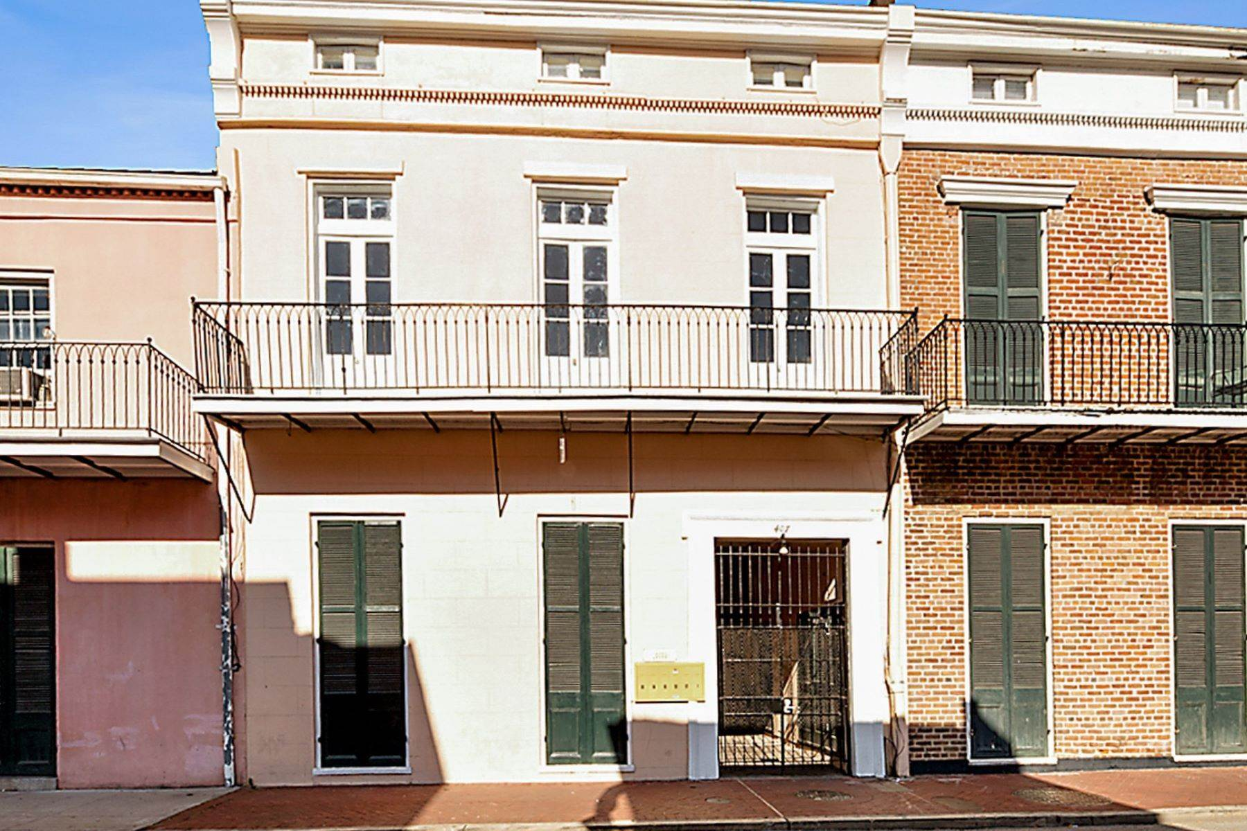 Condominiums for Sale at 407 Burgundy Street, Unit 2 407 Burgundy St, Unit 2 New Orleans, Louisiana 70112 United States