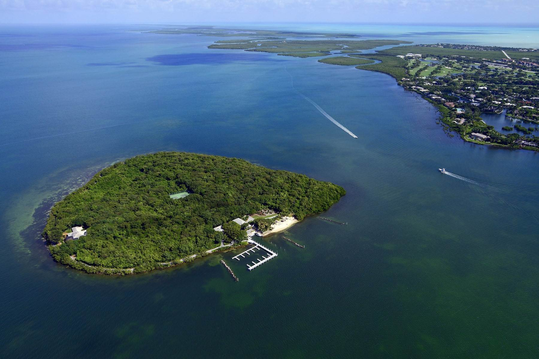 Property 为 销售 在 Pumpkin Key - Private Island, Key Largo, FL Pumpkin Key - Private Island 拉哥, 佛罗里达州 33037 美国